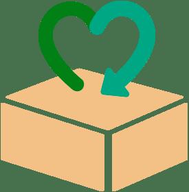 Caixa sustentável